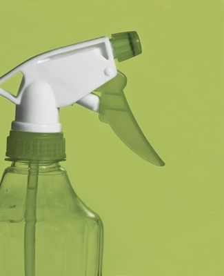 Go green with homemade cleaning products.
