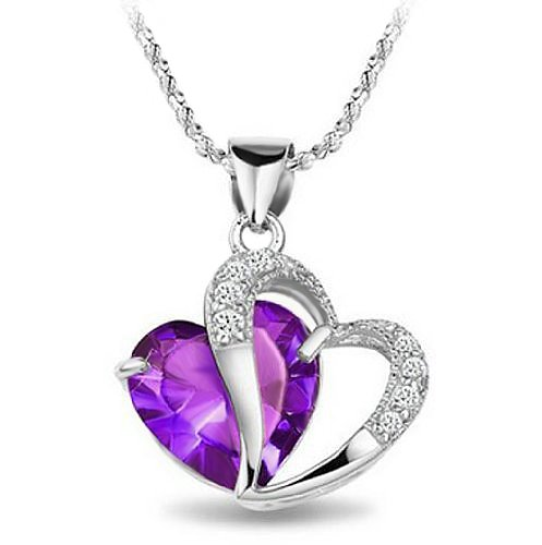 What do you think of this unique-looking amethyst pendant?