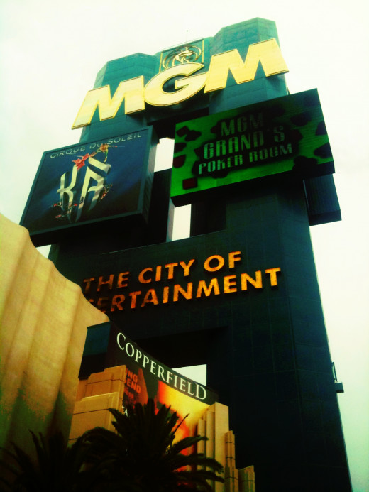 The MGM we all know and love.