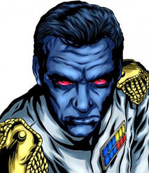 Admiral Thrawn is a male Chiss