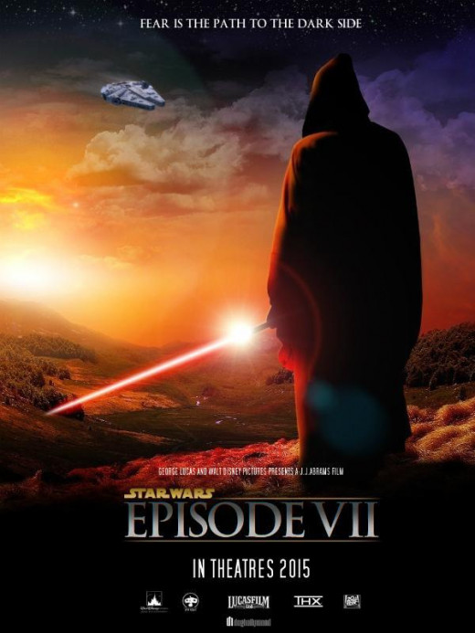 A fan-made poster for Star Wars Episode VII