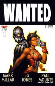 The cover of Wanted #1