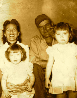 Lorene McCool Rone, J.T. (Jessie Thomas Rone, Jr. Sissy, Mary Rone Kincade and Sandra Rone Mireles
