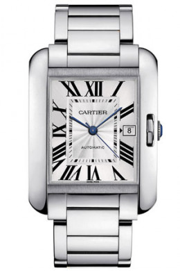 Tank Anglaise watch  Photo Credit: Courtesy Cartier