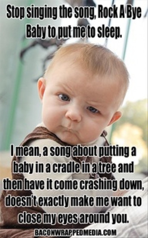 The baby has a point.