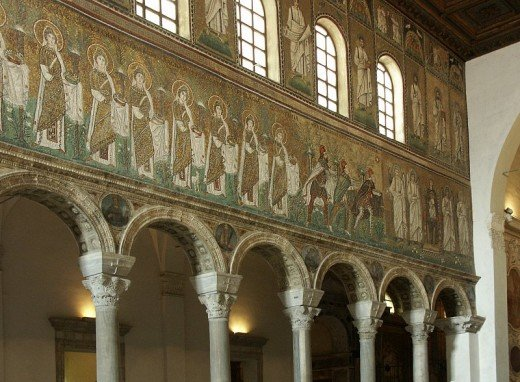 Church of Sant'Apollinare Nuovo, Ravenna.