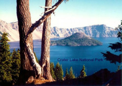 Pictures of Crater Lake National Park in Oregon, USA - Unbelievable Color!