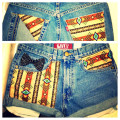 Custom DIY Shorts! Revamping your old jeans into something new and trendy.