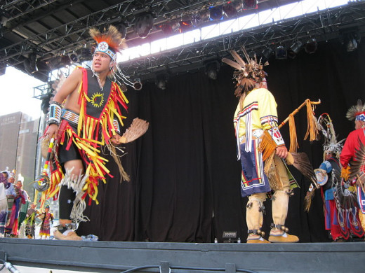 Dancers Keepers of the Eastern Door Mohawk