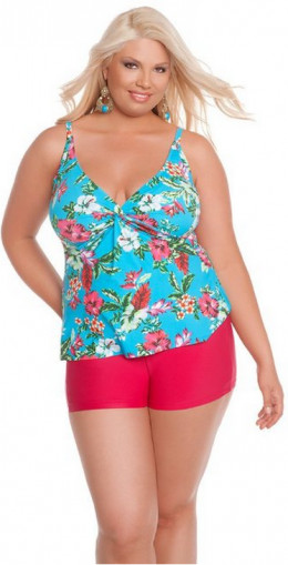 Sunsets Twist Tankini
