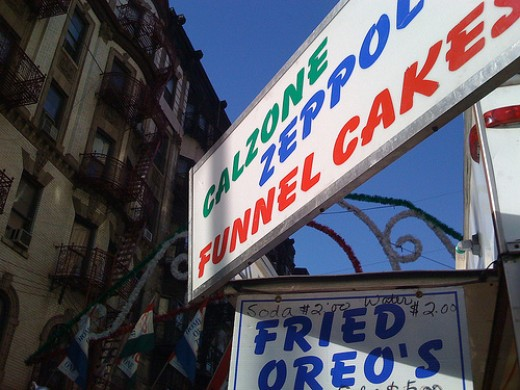 A twist on the usual fried dough.