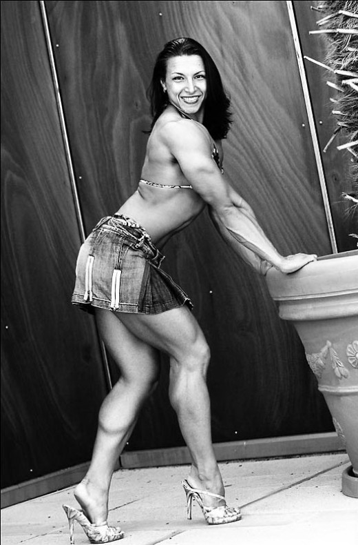 Olga Guryeva - female fitness