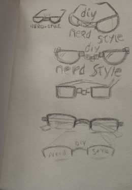 Rough Sketches for a Logo Design, pg. 2