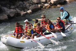 Big river whitewater rafting trips in Colorado