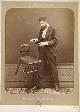 Edouard Isidore Buguet in a telekinesis photo hoax.