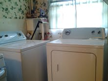 The Whirlpool Dryer and Washer