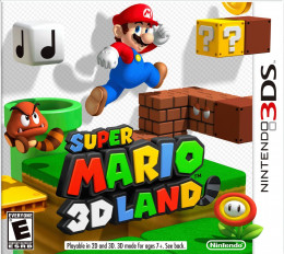 Super Mario 3D Land - One of the Best 3DS XL Games
