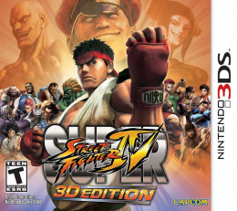 Street Fighter Returns as an AWESEME 3DS XL Game.