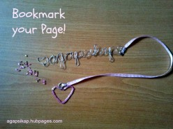 Make A Personalized Bookmark