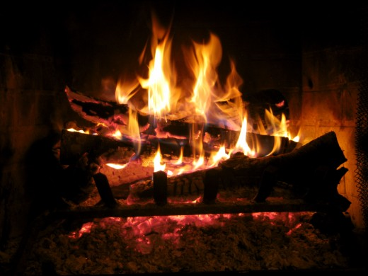 Fireplaces may produce carbon monoxide.