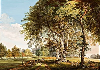 Paul Sandby's View in Luton Park