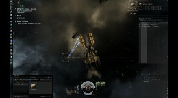 The mining frigate has a special cargo hold specifically for ore.