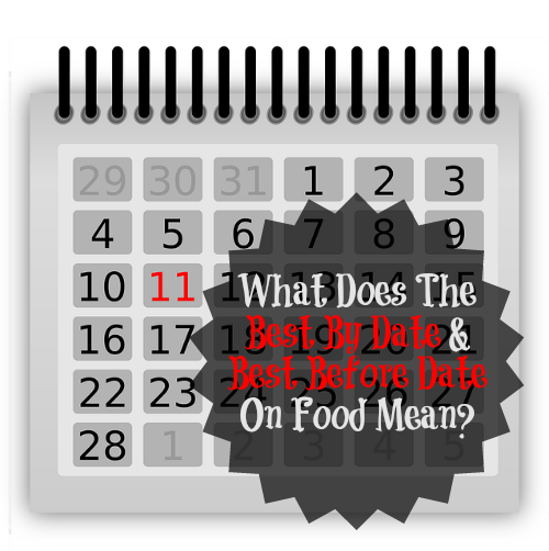 What Does The Best By Date and Best Before Date On Food Mean?