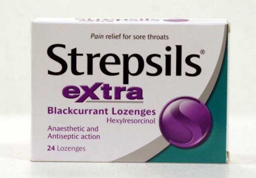 Strepsils Blackcurrant