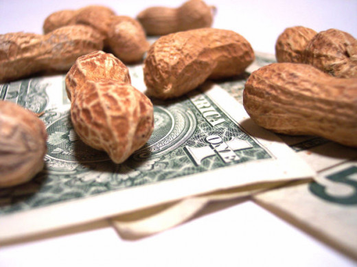 Focus on jobs that earn the most rather than working for peanuts