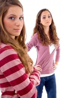 Ask a friend to watch your behavior and stop you when you get angry.