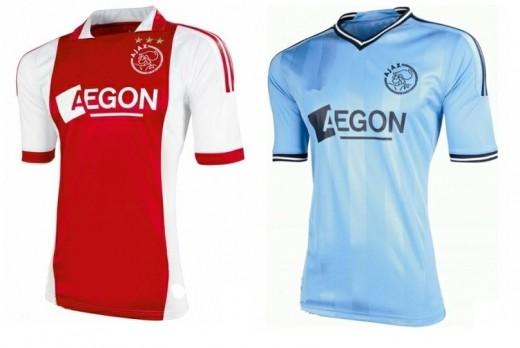 AFC Ajax Football Club Home and Away shirt for 2011/12 season