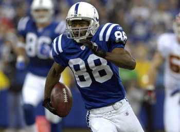 Marvin Harrison - formerly of the Indianapolis Colts