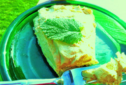 Recipe for Easy Creamy Lemony Pie (Gluten-Free, Egg-Free, Dairy-Free)