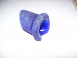 Sea Glass Festival, Prince Edward Ilsnad.  Blue cobalt bottle lip.