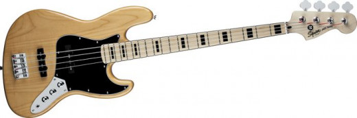 Squier's Vintage Modified 70s Jazz Bass takes many great features of its original namesake, adds some new elements, and wraps the whole bundle up in a budget-friendly package.