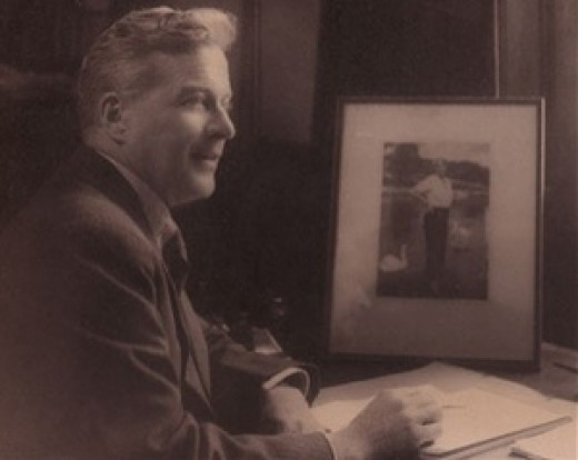 Photograph of Australian speech therapist Lionel Logue, date unknown. This image was probably taken in London c. 1930, when Logue was employed in assisting the Duke of York (later George VI) to overcome a stammer.