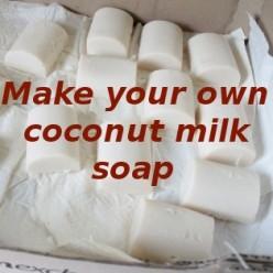 Coconut Milk Soap Recipe