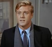 Robert Redford starring in one of his early movie roles in 'Barefoot in the Park.'