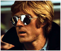 RR on the run in 'Three Days of the Condor' a spy thriller