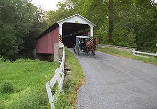 Mercer's Mill Bridge, Chester County, PA