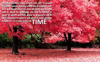 Islamic desktop - Time