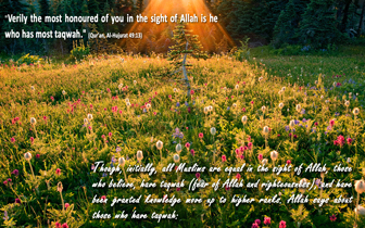 Islamic desktop - Taqwa