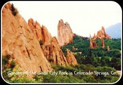 Garden of the Gods, a Spectacular City Park in Colorado Springs