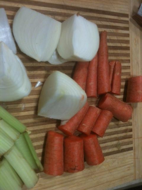 Grandmas homemade french onion soup