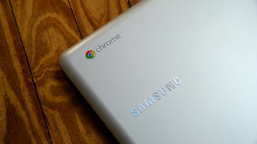 Chromebook and Samsung logo