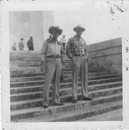 Jessie Rone, Sr and H. Murphy (cousins)
