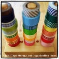 Washi Tape Storage and Organization Ideas