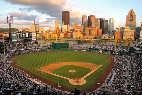 Gorgeous PNC Park in Pittsburgh PA
