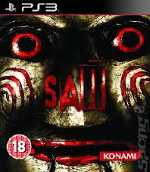 Saw came out for the PS3 and it is loosely based on the movie with the same title. The game has lots of cut scenes with Jig Saw himself.