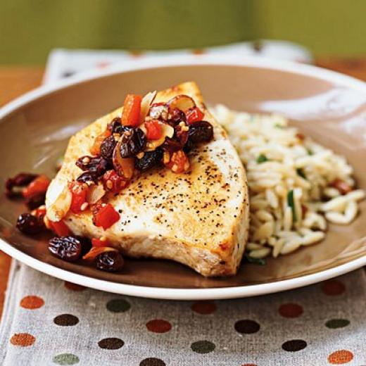 Swordfish Siciliana